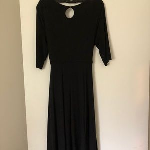 Maternal America Dresses - Maternal America Tie front jersey dress